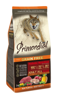 Primordial GF Adult Buffalo and Mackerel 12 kg