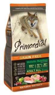 Primordial GF Adult Chicken & Salmon 2 kg