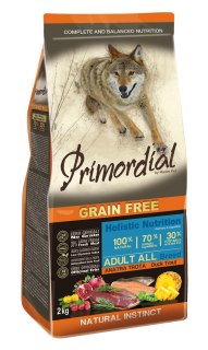 Primordial GF Adult Trout & Duck 2 kg