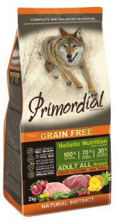 Primordial GF Adult Deer & Turkey 2 kg